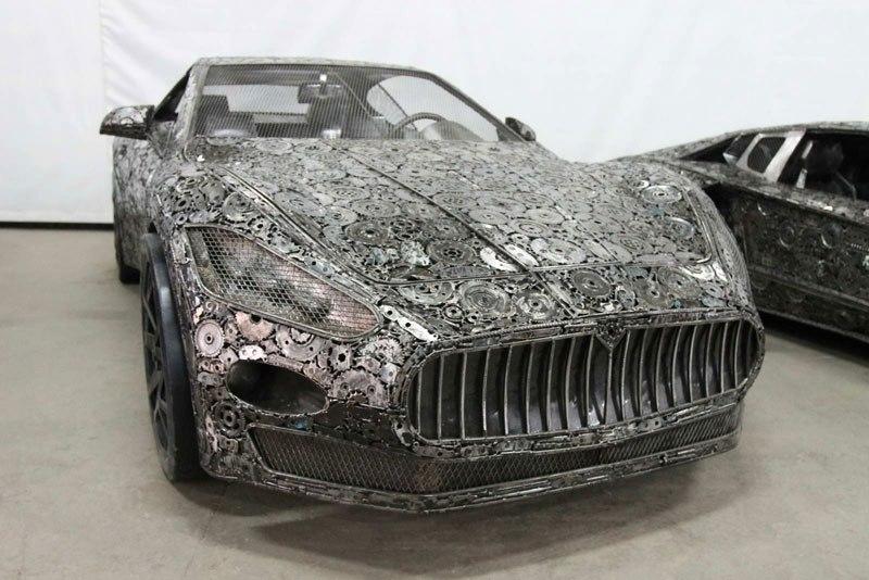 Scrap Metal Supercars