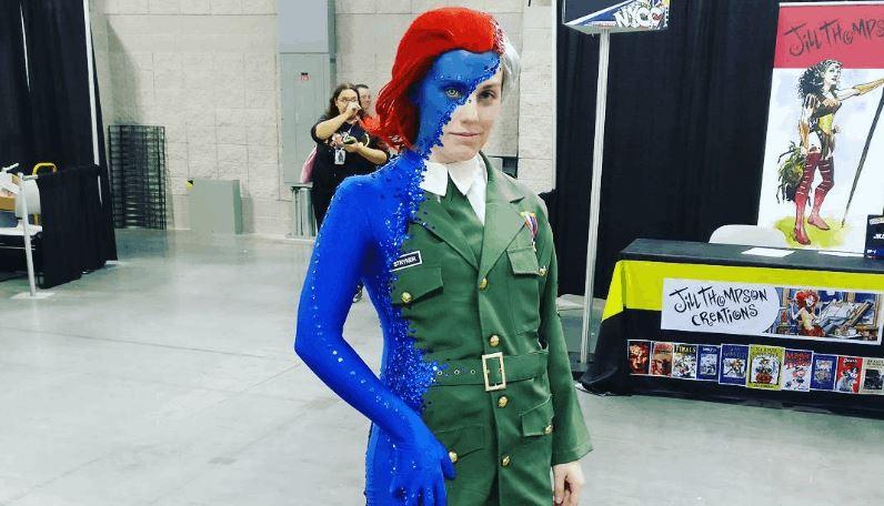 Mystique cosplay 2016