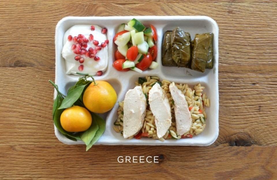 greece School Lunch