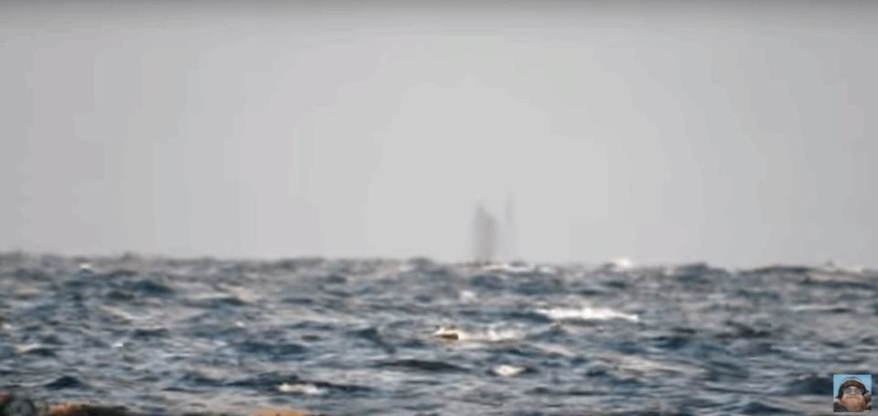 Ghost Ship Caught On Tape Sailing on Lake Superior