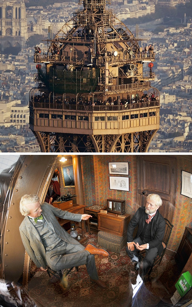 Apartment in Eiffel Tower