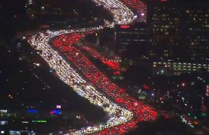 Los Angeles Thanksgiving Traffic Jam