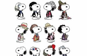 Snoopy as Each of the Twelve Doctor's From Doctor Who