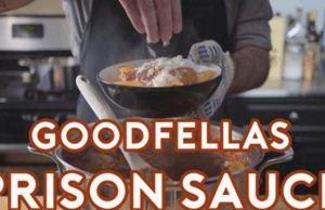 Tomato Sauce From the Prison Dinner Scene in 'Goodfellas'