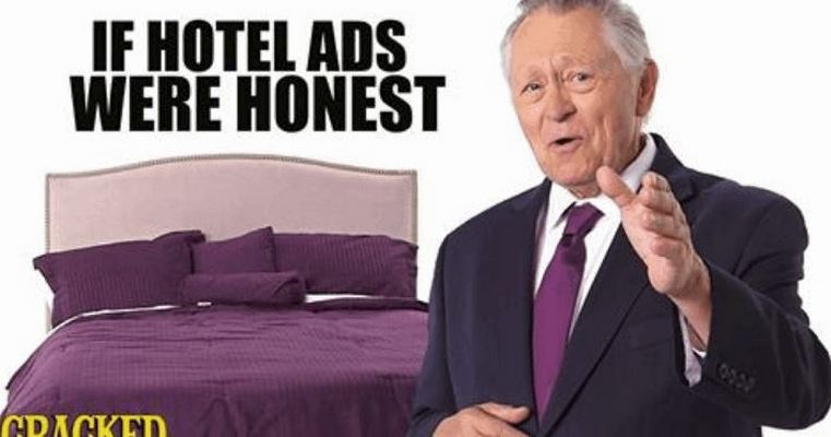 Honest Ad for Hotels