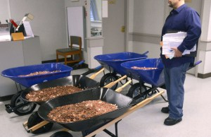 Man Paid His DMV With 300,000 Pennies