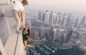 Russian Model Slammed For Death-Defying Photoshoot On Top Of High-Rise Building