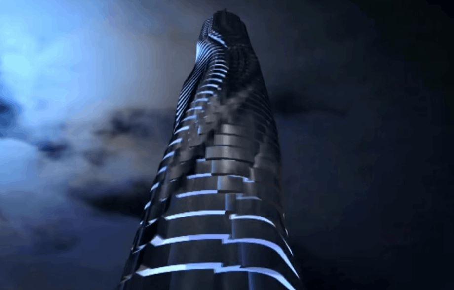 World's First Rotating Skyscraper