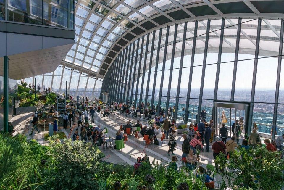 Highest Public Garden inLondon