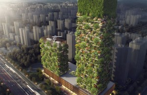 First Vertical Forest In Asia