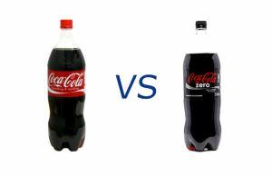 Coca Cola And Coca Cola Zero