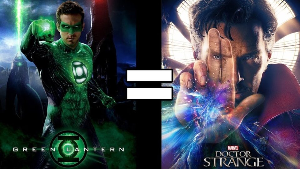 GREEN LANTERN and DOCTOR STRANGE