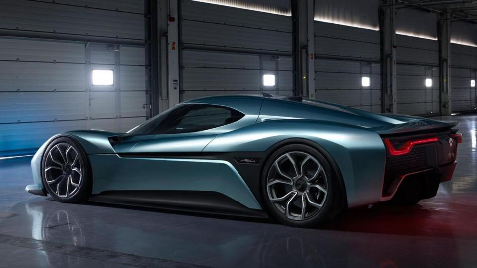 io EP9 Electric Hypercar