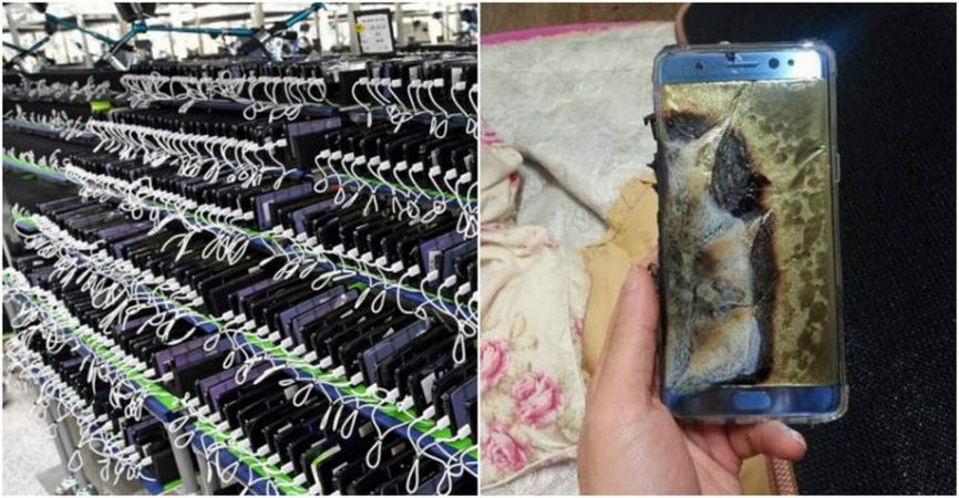 This Is What Millions Of Samsung Galaxy Note 7s Are Being Used For Now