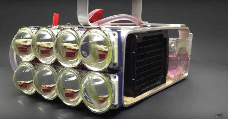 72,000 Lumen LED Flashlight