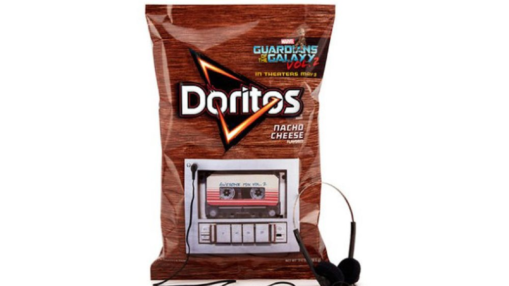 Doritos Created a Bag That Plays GUARDIANS OF THE GALAXY VOL. 2 Soundtrack