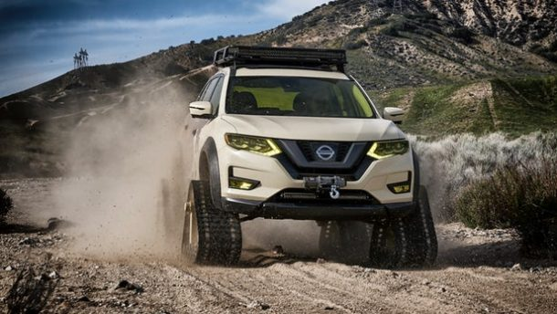 Nissan's Rogue Trail Warrior