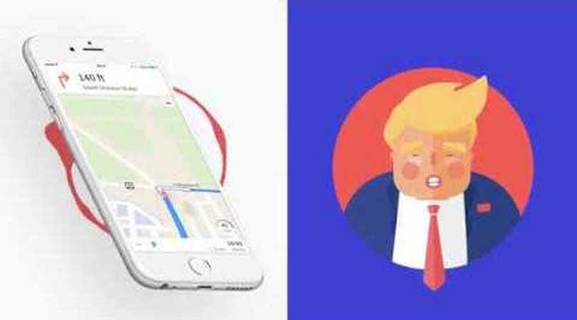 onald Trump's Voice On GPS