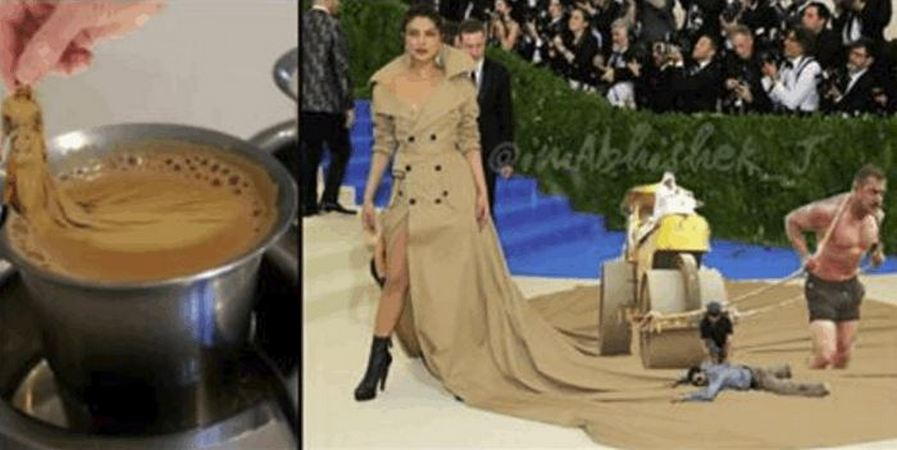 Priyanka Chopra's Ridiculous MET Gala Dress Has Started a Photoshop War