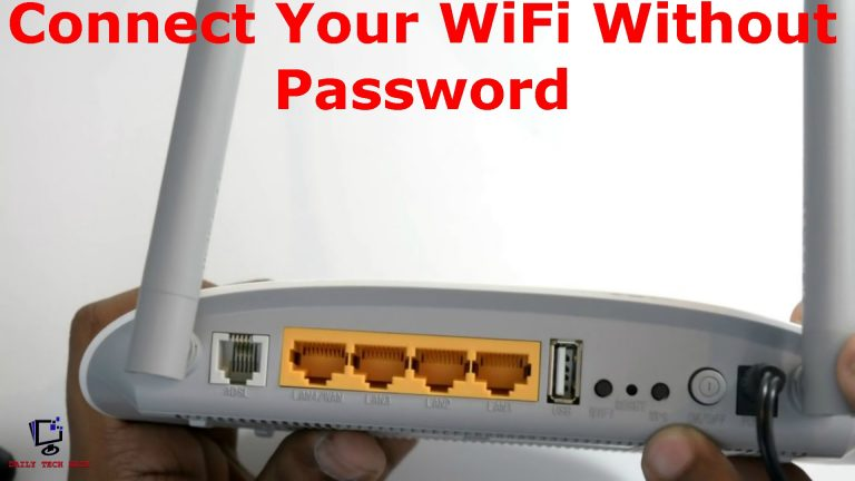 WiFi Without A Password