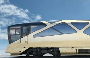 Japanese ultra luxury train