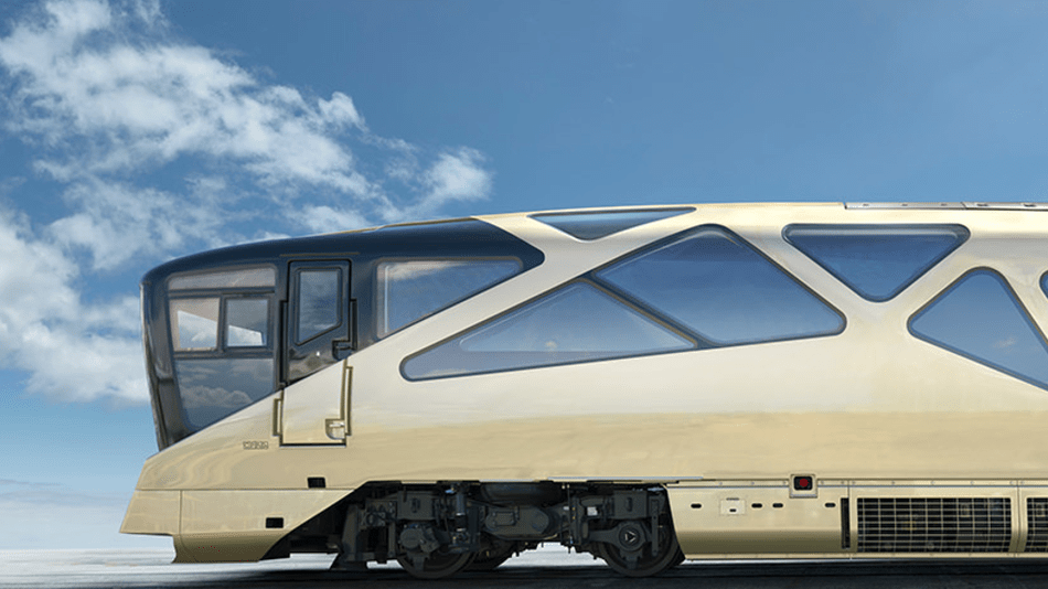 Japanese ultra luxury train