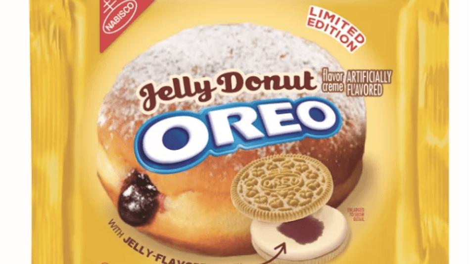 Oreo Jelly Donut