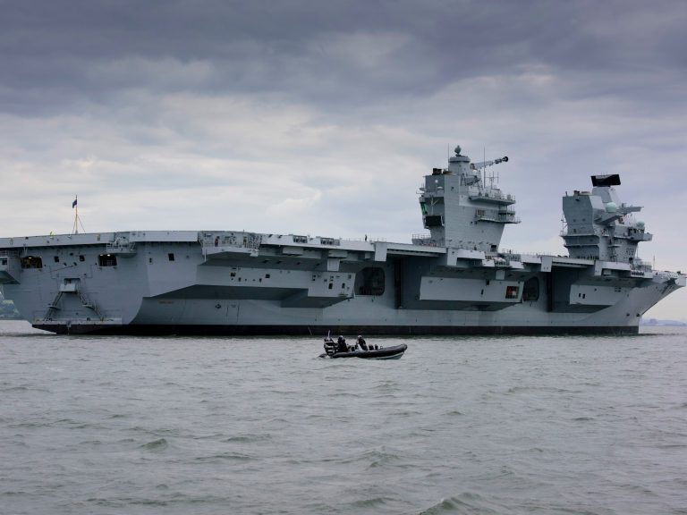 Britain-aircraft-carrier