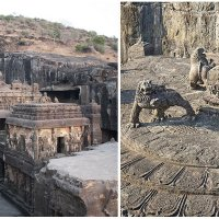 The Kailasa Temple: World's Largest Monolithic Structure Carved From One Piece of Rock