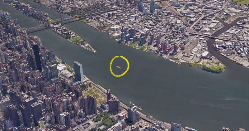 Tiny Island in New York