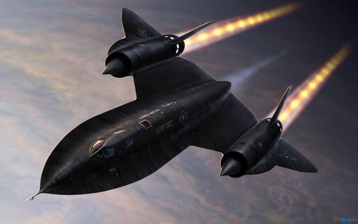 SR-71 Blackbird Infamous LA Speed Check Story