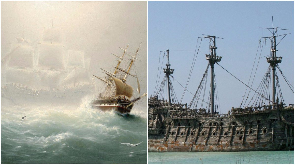 For 250 Years, People Have Seen The Flying Dutchman Which Is Doomed To Sail Forever