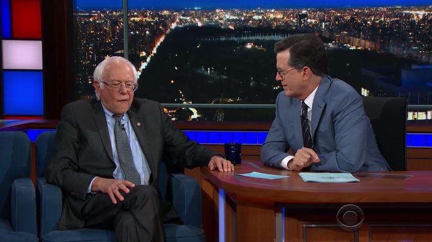 Stephen Colbert- Bernie Sanders