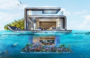 Floating Seahorse Villas Of Dubai