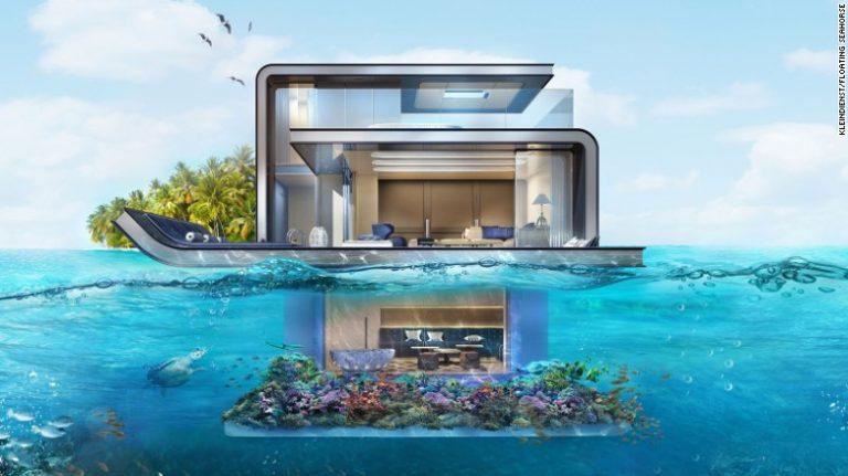 Floating Seahorse Villas Of Dubai
