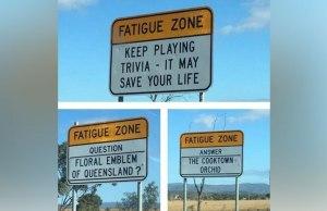 Trivia Signs In Australia