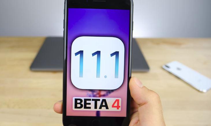 iOS 11.1 Beta 4