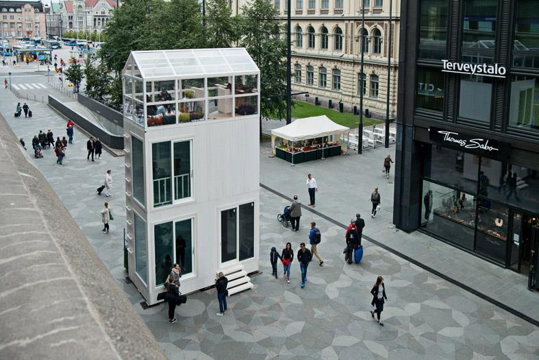 Micro Apartment Building