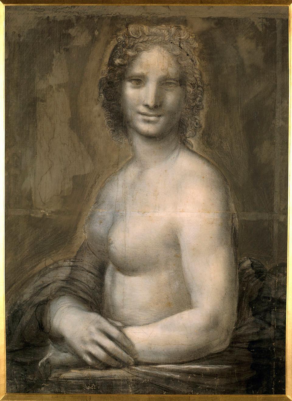 Naked Mona Lisa