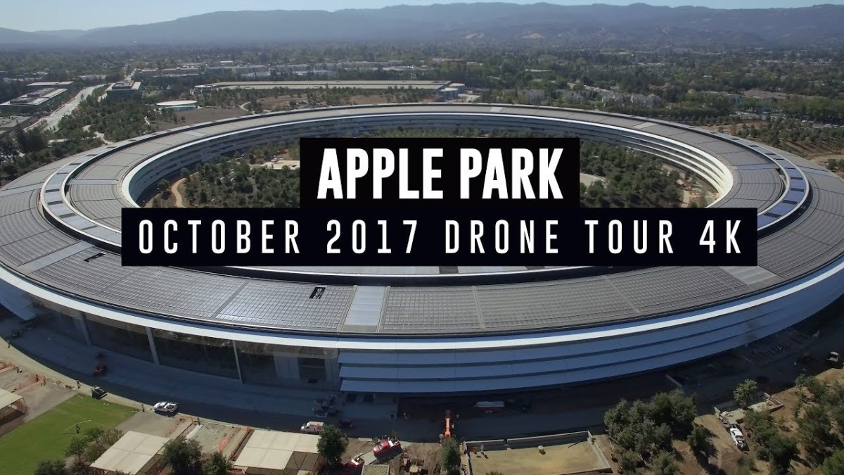 Check Out Apple Park in 4K Drone Tour