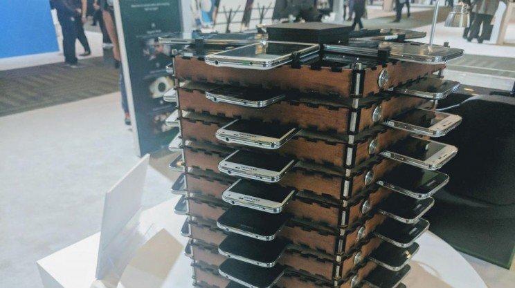 Samsung-Bitcoin Mining Rig