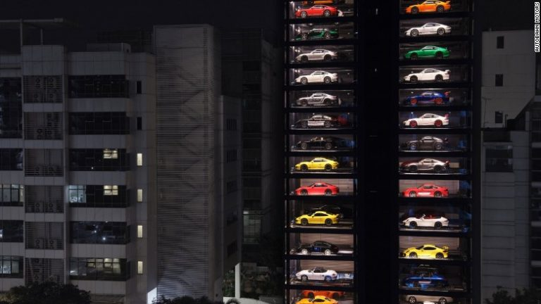 Giant Supercar Vending Machine In Singapore