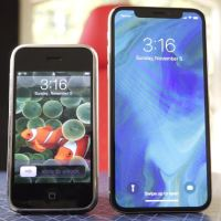 10 Year Comparison Of iPhone X vs First iPhone