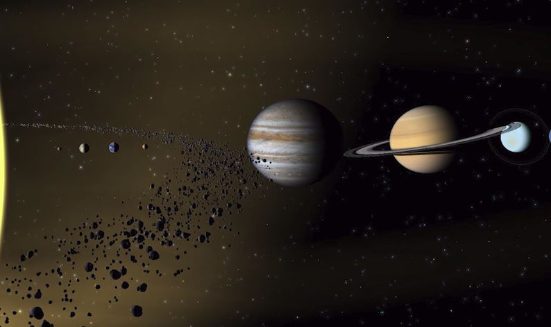 Where Is The Planet Between Mars And Jupiter?