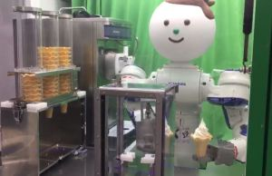 Robot-Ice-Cream-Vending-Machine