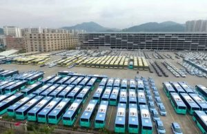 Shenzhen City Revealed A Fleet Of 16000 Electric Buses