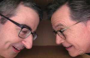 John Oliver_Stephen Colbert