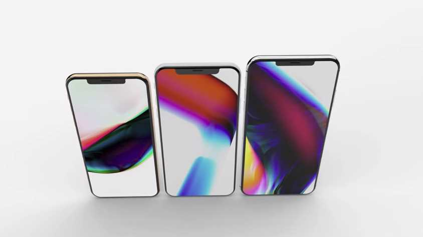 2018 iPhone Leaks! More Screen, Less Notch And a 6.1-inch iPhone