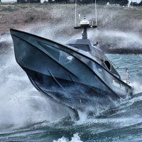 Thunder Child, High-Speed Boat Which Can't Be Capsized