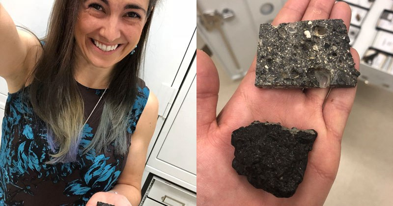 Pieces of the Moon and Mars on Earth